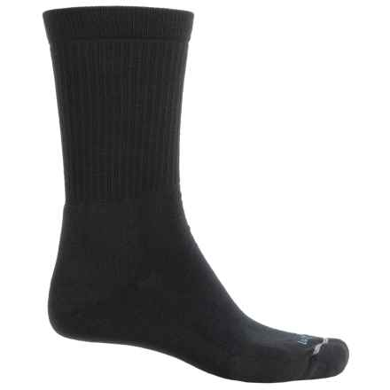 Lorpen Outdoor Lifestyle Socks - Merino Wool Blend, Crew (For Men) in Black - Closeouts