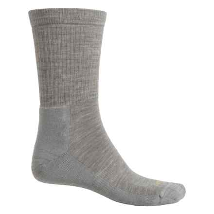 Lorpen Outdoor Lifestyle Socks - Merino Wool Blend, Crew (For Men) in Grey - Closeouts