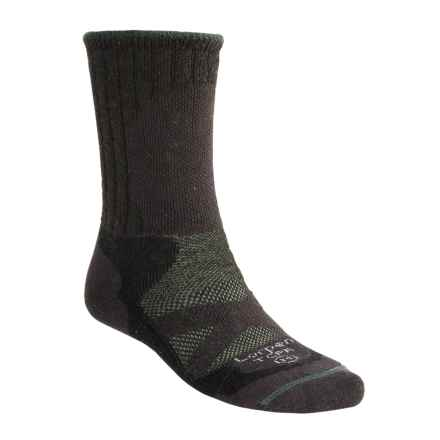 Lorpen Primaloft®-Merino Wool Hiker Socks - Midweight (For Men and Women) in Graphite - 2nds