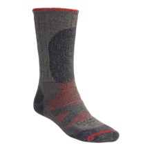Lorpen Primaloft®-Merino Wool Hiker Socks - Midweight (For Men and Women) in Vapor Grey - 2nds