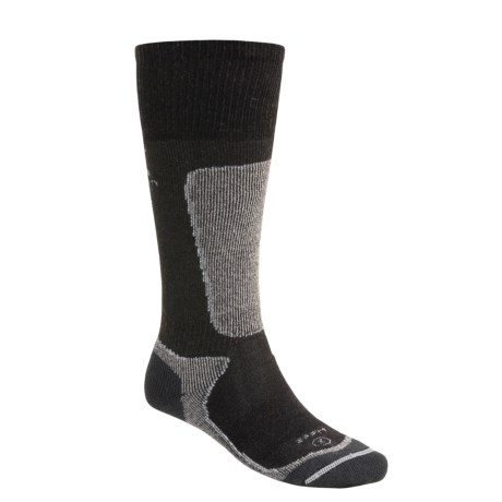 Lorpen PrimaLoft® Yarn Ski Socks - 2-Pack, Merino Wool, Midweight (For Men and Women) in Black