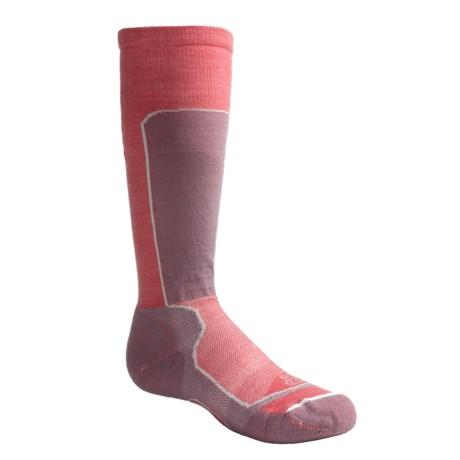 Lorpen Race Ski Socks - Merino Wool, Lightweight (For Kids) in Black/Navy
