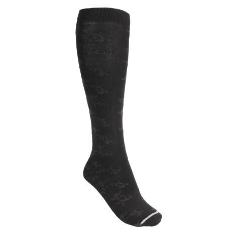 Lorpen Ruth Boot Socks - Modal, Over-the-Calf (For Women) in Black
