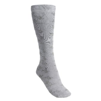 Lorpen Ruth Boot Socks - Modal, Over-the-Calf (For Women) in Silver