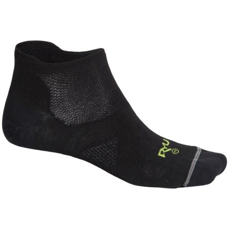 Lorpen RYU Multisport Socks - Below the Ankle (For Men) in Black/Green