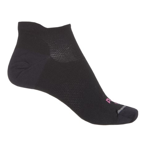 Lorpen RYU Multisport Ultralight Low-Cut Socks - Below the Ankle (For Women) in Black/Fucsia