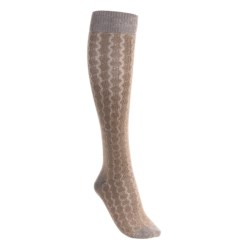 Lorpen Sabrina Socks - Modal-Cotton, Mid-Calf (For Women) in Blackberry
