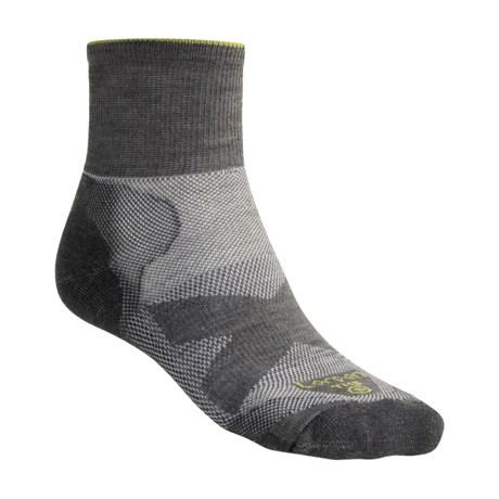 Lorpen Shorty Light Hiking Socks - Merino Wool (For Men and Women) in Smoke