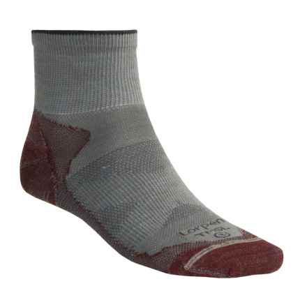 Lorpen Shorty Ultra Light Hiking Socks - Merino Wool (For Men and Women) in Red - Closeouts