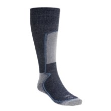 Lorpen Silk-Thermolite® Ski Socks (For Men and Women) in Navy Blue - 2nds