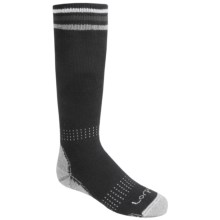 Lorpen Ski Socks - Midweight, Over-the-Calf (For Kids and Youth) in Black - 2nds