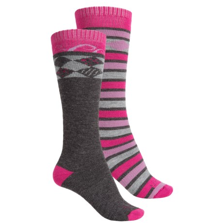 Lorpen Ski/Snowboard Socks - 2-Pack, Merino Wool, Over the Calf (For Women)