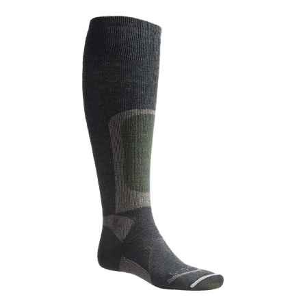 Lorpen Stalker Hunting Socks - Over the Calf (For Men) in Deep Forest - 2nds