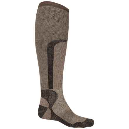 Lorpen Super Heavy Hunting Socks - Over the Calf (For Men) in Dark Brown - 2nds