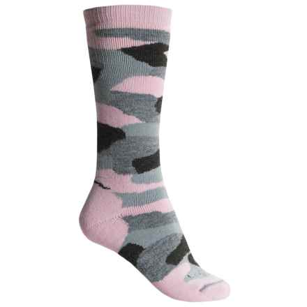 Lorpen T2 Camo Hunting Socks - Merino Wool, Over the Calf (For Women) in Pink Camo - Closeouts