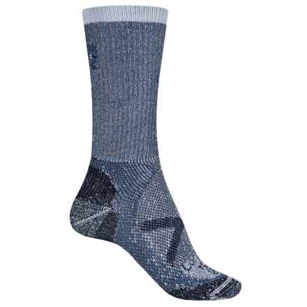 Lorpen T2 CoolMax® Thin Socks - Crew (For Women) in Blue - Closeouts