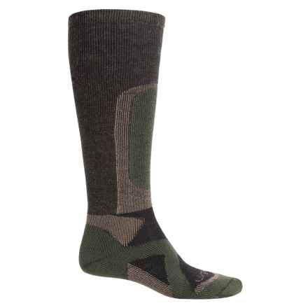 Lorpen T2 Hunt Heavy Stop Socks - Over the Calf (For Men) in Forest Green - Closeouts