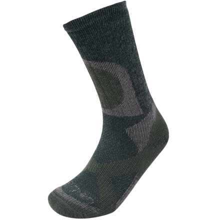 Lorpen T2 Hunt Stop Socks - Crew (For Men and Women) in Forest - Closeouts