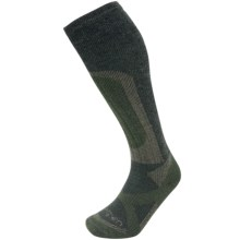 Lorpen T2 Hunt Stop Socks - Merino Wool, Over the Calf (For Men and Women) in Forest - Closeouts