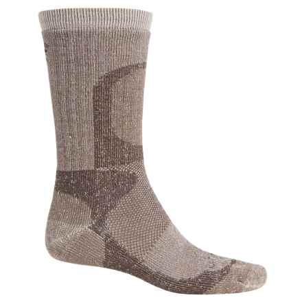 Lorpen T2 Hunting Extreme Socks - Crew (For Men and Women) in Brown - Closeouts
