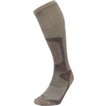 Lorpen T2 Hunting Extreme Socks - Over the Calf (For Men and Women) in Brown - Closeouts