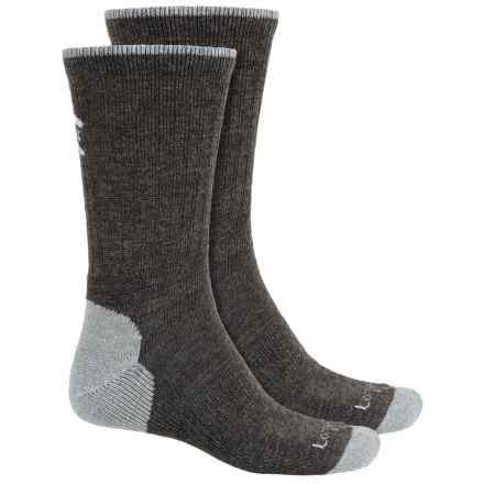 Lorpen T2 Light Hiker Socks - 2-Pack, Merino Wool, Crew (For Men and Women) in Dark Grey - Closeouts