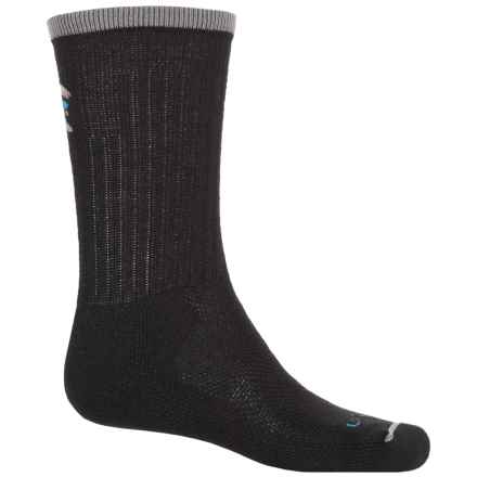 Lorpen T2 Light Hiker Socks - Merino Wool, Crew (For Men) in Black - Closeouts