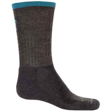 Lorpen T2 Light Hiker Socks - Merino Wool, Crew (For Men) in Charcoal - Closeouts