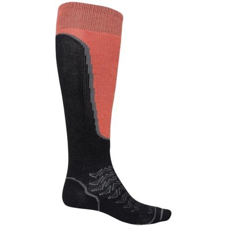 Lorpen T2 Light Ski Socks - Merino Wool, Over the Calf (For Men)