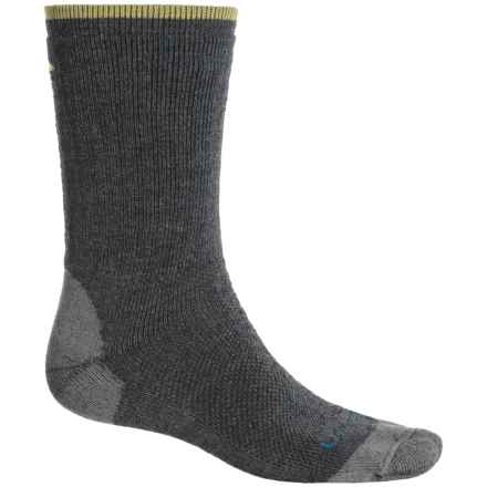 Lorpen T2 Midweight Hiker Socks - Merino Wool, Crew (For Men) in Charcoal - Closeouts