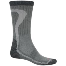 Lorpen T2 Nordic Ski Socks - Merino Wool, Crew (For Men and Women) in Charcoal - Closeouts