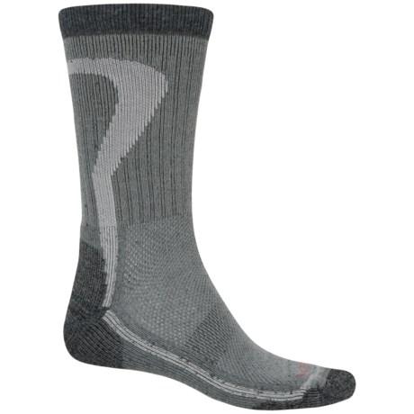 Lorpen T2 Nordic Ski Socks - Merino Wool, Crew (For Men and Women) in Charcoal