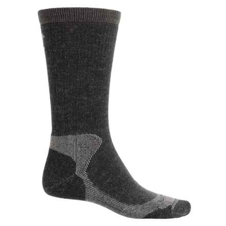 Lorpen T2 Steel Toe Work Socks - Merino Wool Blend, Mid Calf (For Men and Women) in Anthracite - Closeouts