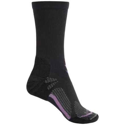 Lorpen T3 CoolMax® Light Hiker Socks - Crew (For Women) in Anthracite - Closeouts