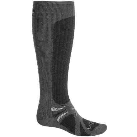 Lorpen T3 Heavy Trekker Socks - Merino Wool, Over the Calf (For Men and Women) in Charcoal - Closeouts