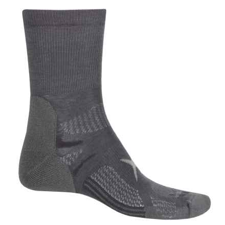 Lorpen T3 Light Hiker Shorty Socks - Ankle (For Men and Women) in Charcoal - Closeouts