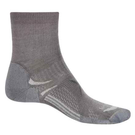 Lorpen T3 Light Hiker Shorty Socks - Ankle (For Men and Women) in Mid Grey - Closeouts