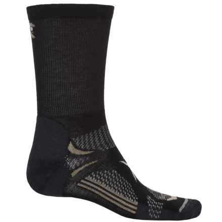 Lorpen T3 Light Hiker Socks - Crew (For Men) in Black - Closeouts