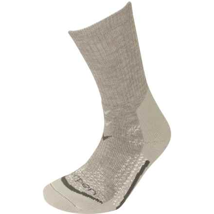 Lorpen T3 Midweight Hiker Socks - Merino Wool, Crew (For Women) in Oatmeal - Closeouts