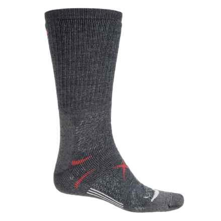 Lorpen T3 Midweight Hiker Socks - PrimaLoft®-Merino Wool, Crew (For Men) in Charcoal - Closeouts