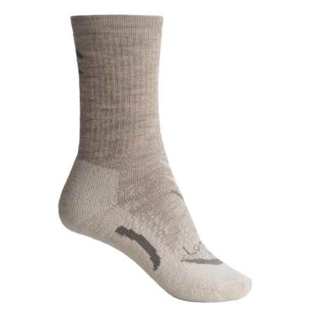 Lorpen T3 Midweight Hiker Socks - PrimaLoft®-Merino Wool, Crew (For Women) in Oatmeal - Closeouts