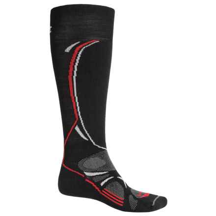 Lorpen T3 Ski Light Socks - Over the Calf (For Men) in Black - Closeouts
