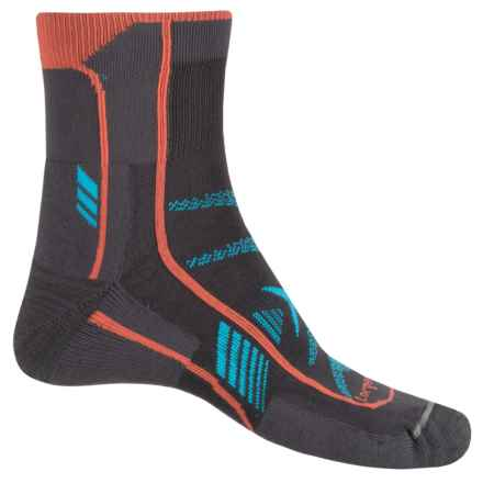 Lorpen T3 Ultra Trail Running Socks - Ankle (For Men and Women) in Anthracite - Closeouts