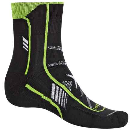 Lorpen T3 Ultra Trail Running Socks - Ankle (For Men and Women) in Black - Closeouts