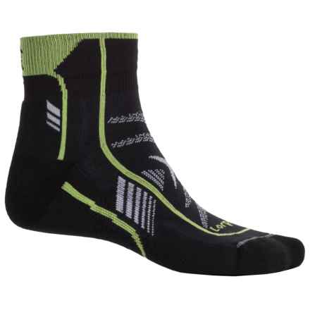 Lorpen T3 Ultralight Trail Running Socks - Ankle (For Men and Women) in Black - 2nds