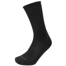 Lorpen Tactical/Uniform Socks - Crew (For Men and Women) in Black - Closeouts