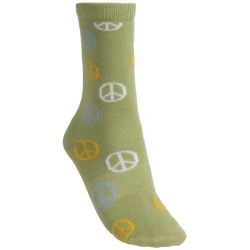 Lorpen Taylor Socks - Modal, Crew (For Women) in White