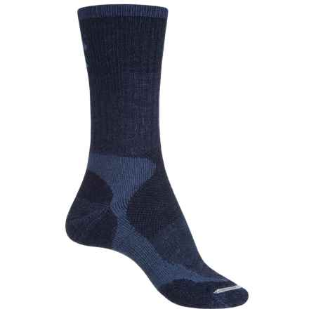 Lorpen Trekking Schoeller® Polycolon Trekking Socks - Crew (For Women) in Navy - Closeouts
