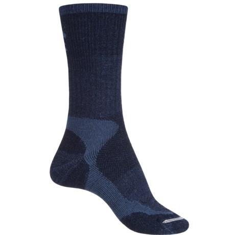 Lorpen Trekking Schoeller® Polycolon Trekking Socks - Crew (For Women) in Navy