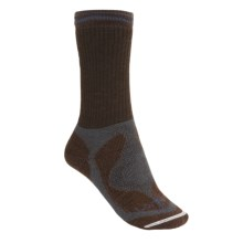 Lorpen Tri-Layer Hiker Socks - Midweight (For Women) in Chocolate - 2nds